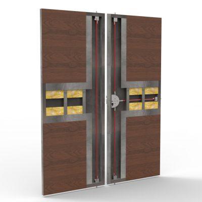 Precio puerta blindada exterior latest precio puerta for Precio puertas blindadas exterior