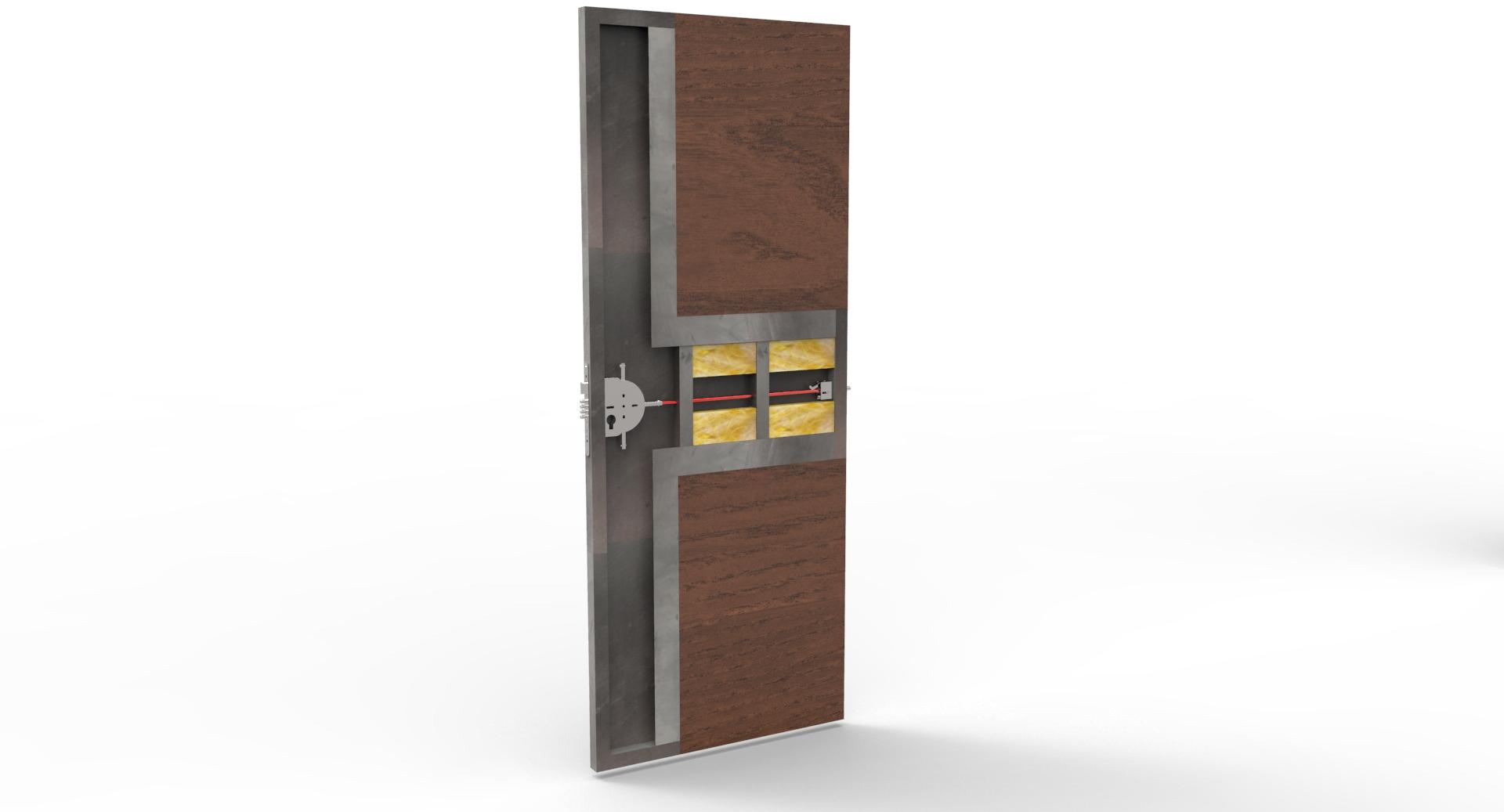Puertas de Seguridad, Puertas Blindadas con cierre en 2 Direcciones -